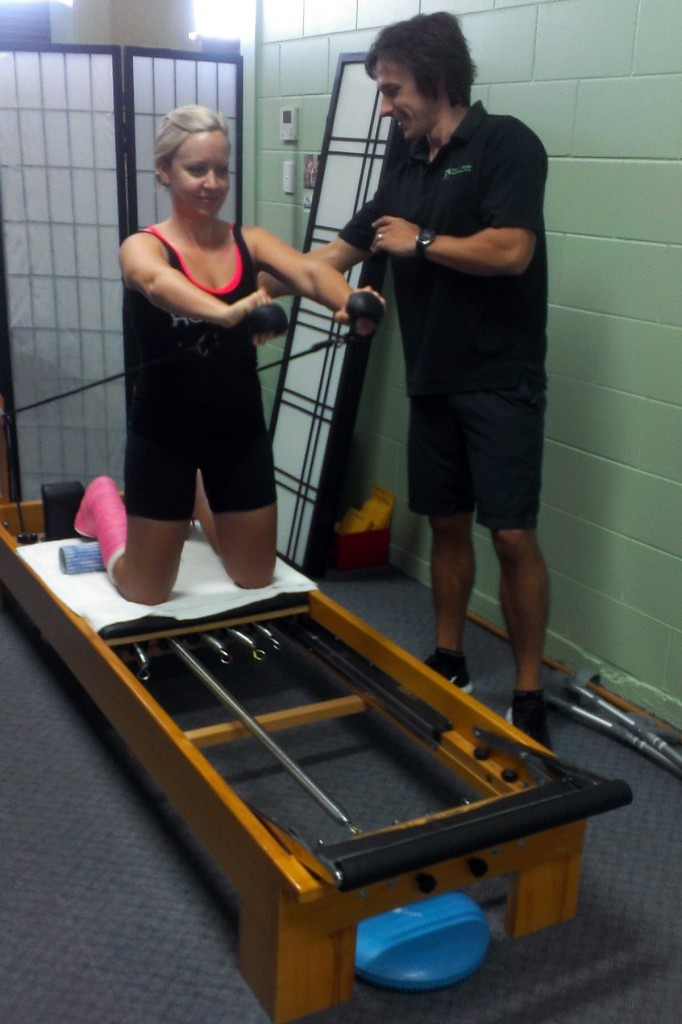 An accredited EP can assist with safe rehabilitation from injury through to full fitness